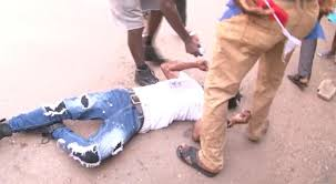 Image result for npp fight at mampong