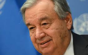 Image result for U.N. chief calls for global truce so world can focus on coronavirus