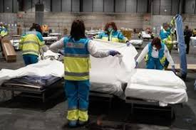 Image result for Madrid to use ice rink as morgue for coronavirus victims