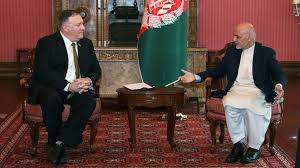 Image result for US cuts Afghan aid by $1bn after Pompeo fails to end impasse