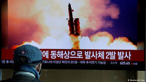 Image result for North Korea Launches Unidentified Projectiles for Second Time in Two Weeks