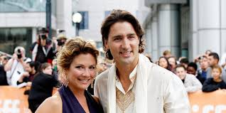 Image result for Canadian PM Justin Trudeau's wife positive for coronavirus