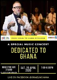 Embassy of Israel goes virtual with special music concert for Ghana