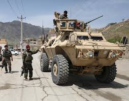 Bombing near Afghan capital kills three amid unabated violence ...