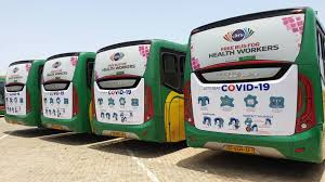 Citi TV cancels free bus service for health workers