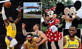 NBA in talks about resuming the season at Disney World in late ...