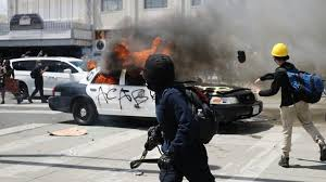 George Floyd death: Violence erupts on sixth day of protests ...