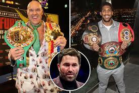 Tyson Fury vs Anthony Joshua AGREED on TWO-fight deal: Tyson Fury ...