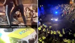 Police Professional | Fifteen MPS officers injured tackling illegal street  party in south London