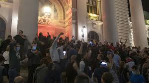 Serbs storm parliament after new coronavirus lockdown announced -  MarketWatch