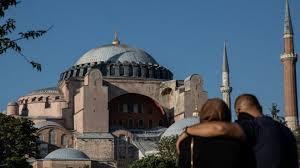 Hagia Sophia: Former Istanbul museum welcomes Muslim worshippers ...