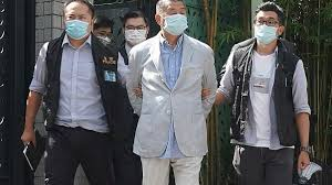 Hong Kong media tycoon Jimmy Lai arrested under security law ...